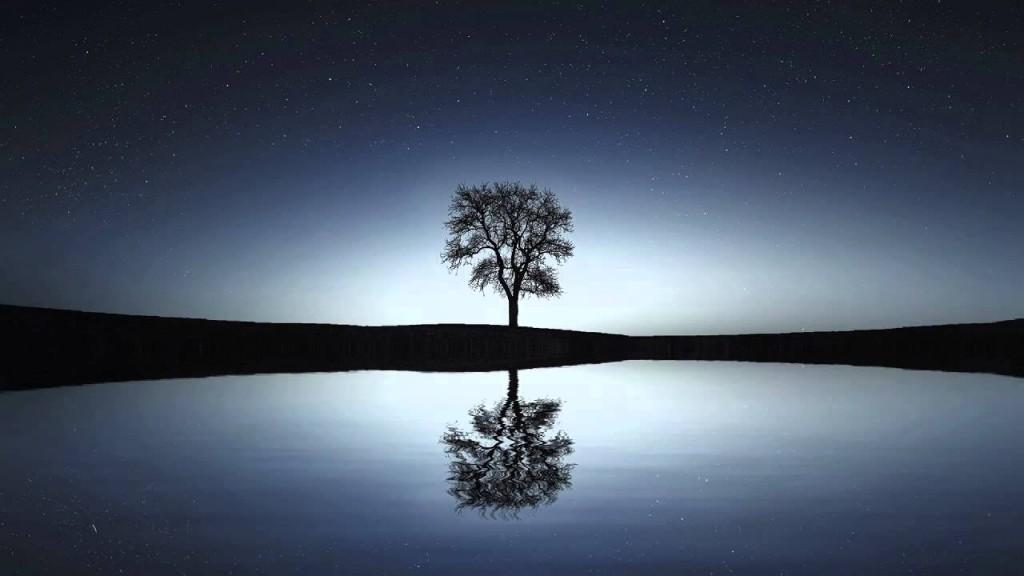 image d'un lac tranquille